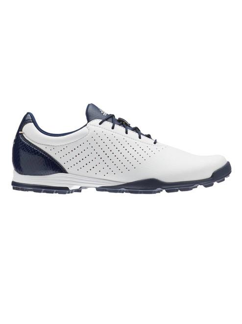 Adidas Ladies Adipure SC Golf Shoes - FTWR White/Coll. Navy