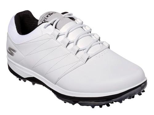 Skechers Go Golf Pro 4 Golf Shoes - White/Black