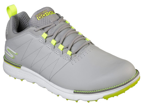 Skechers Go Golf Elite 3 Golf Shoes - Grey/Lime