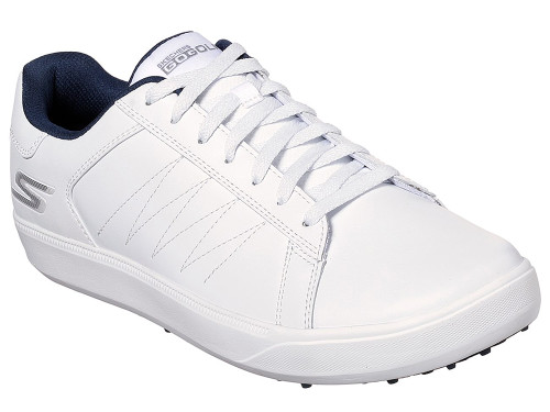 Skechers Go Golf Drive 4 Golf Shoes - White/Navy