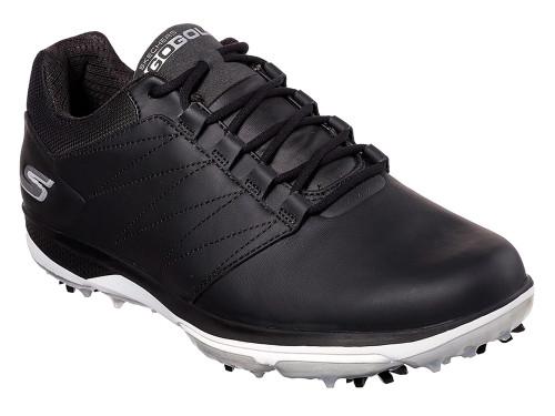 Skechers Go Golf Pro 4 Golf Shoes - Black/White