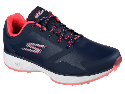 Skechers W Go Golf Eagle Pro Golf Shoes - Navy/Pink