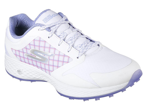 Skechers W Go Golf Eagle Rival Golf Shoes - White/Lavender