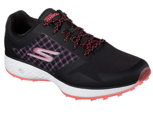 Skechers W Go Golf Eagle Rival Golf Shoes - Black/Hot Pink