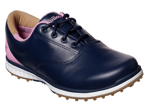 Skechers W Go Golf Elite 2 Adjust Shoes - Navy/Pink