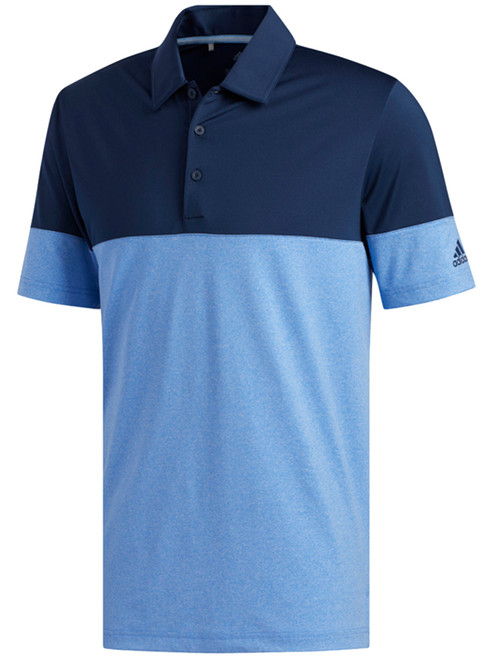 Adidas Ultimate 2.0 Allday Novelty Polo - True Blue/Col Navy