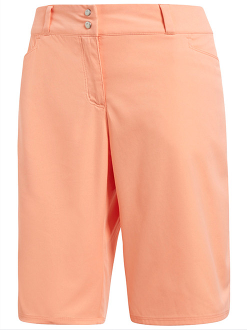 Adidas Ladies Lightweight Bermuda Short - Chalk Coral
