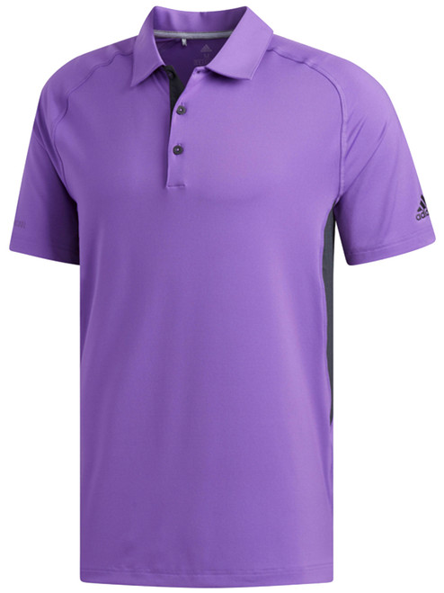 Adidas Ultimate Hyper Athletic Polo - Active Purple/Carbon