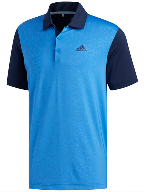 Adidas Ultimate365 Camo-Embossed Polo - Collegiate Navy/Blue