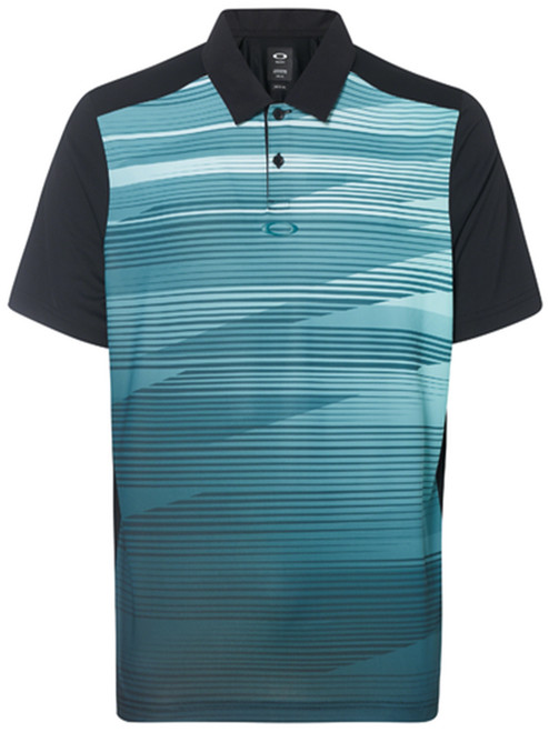 Oakley Ace Golf Polo - Blackout