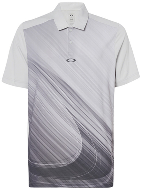 Oakley Exploded Ellipse Polo - Light Grey