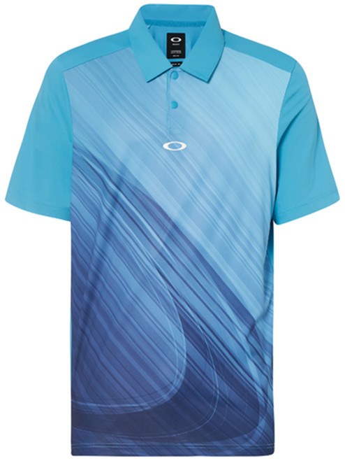Oakley Exploded Ellipse Polo - Stormed Blue
