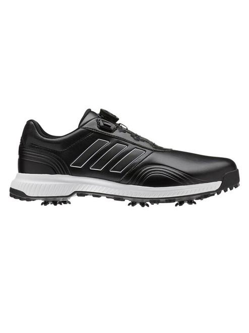 Adidas CP Traxion BOA Golf Shoes - Core Black/FTWR White