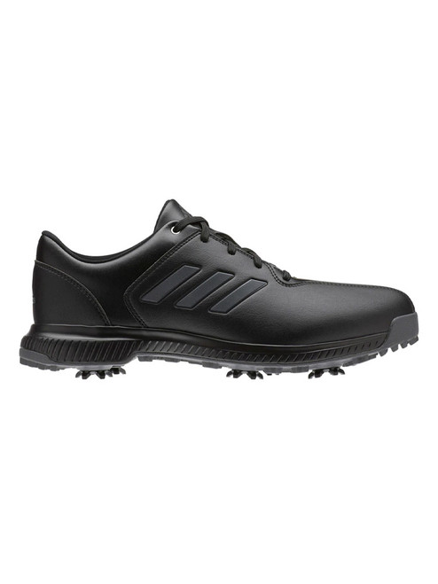 Adidas CP Traxion Golf Shoes - Core Black/Carbon/Iron Met