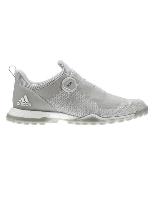 Adidas W Forgefiber BOA Golf Shoes - Grey Two/Silver Met.