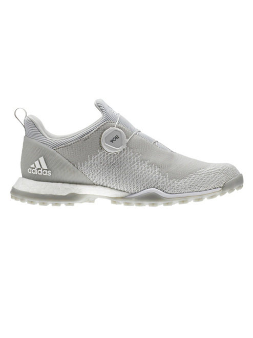 cb28ea2de13f Adidas W Forgefiber BOA Golf Shoes - Grey Two Silver Met. - Ladies ...