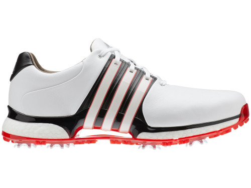 Adidas Tour360 XT Golf Shoes - FTWR White/Core Black/Scarlet