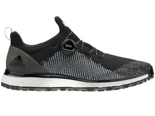 Adidas Forgefiber BOA Golf Shoes - Core Black/FTWR White