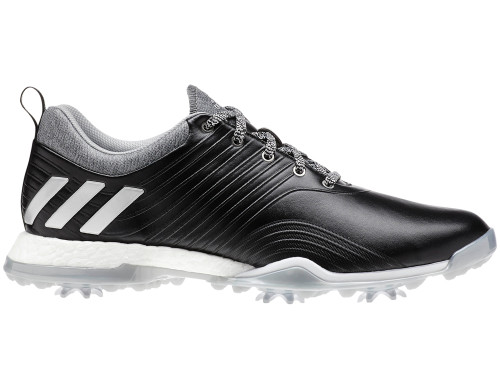 Adidas Women's Adipower 4orged Golf Shoes - Core Black/Silver Met