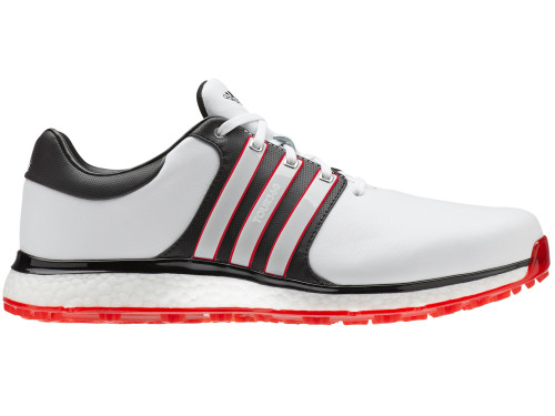 Adidas Tour360 XT-SL Golf Shoes - FTWR White/Scarlet