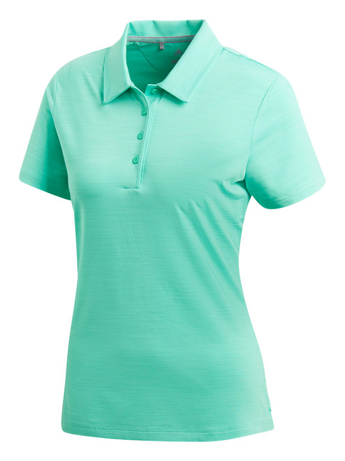 Adidas Ladies Ultimate SS Polo - Hi-Res Green