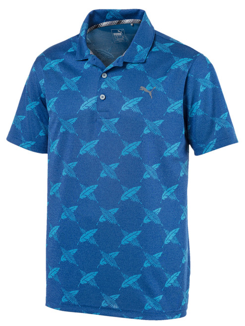Puma Alterknit Palms Polo - Surf The Web