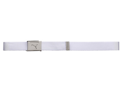 Puma Reversible Web Golf Belt - Bright White