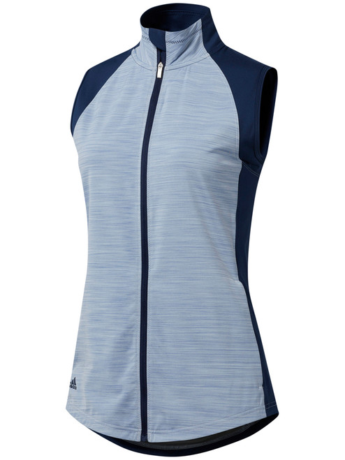 Adidas W Full-Zip Vest - Night Indigo