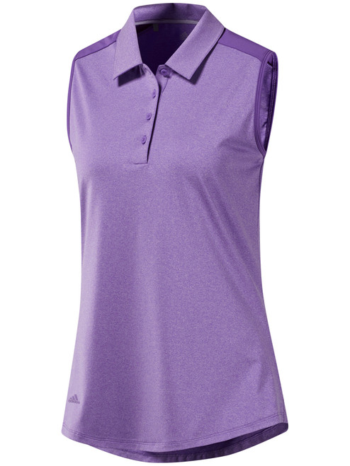 Adidas W Ultimate365 SL Polo - Active Purple Htr