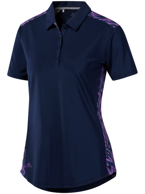 Adidas W Ultimate365 Novelty Polo - Night Indigo