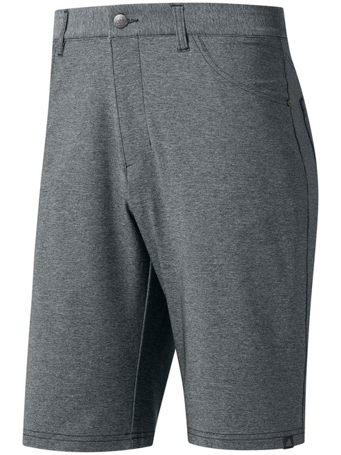 Adidas Ultimate365 Heather 5-Pocket Short - Grey Three HTR