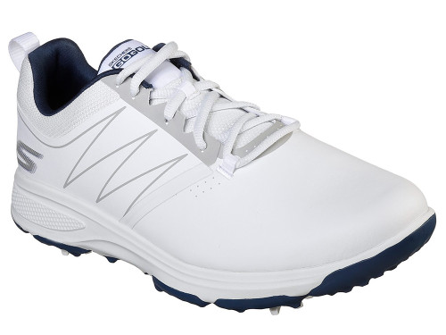 Skechers Go Golf Pro Torque Golf Shoes - White/Navy