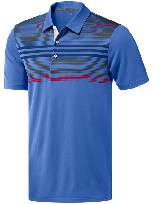 Adidas Bold Sport Polo - True Blue/Dark Marine/Grey Five