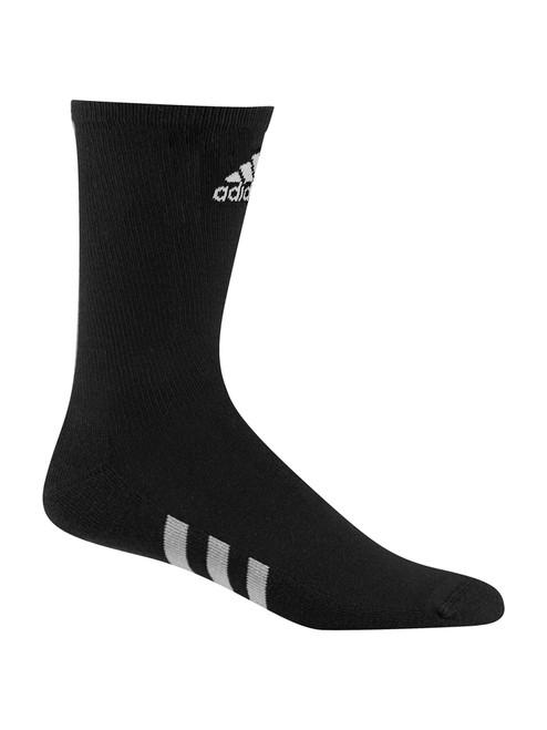 Adidas 3 Pack Crew Socks - Black