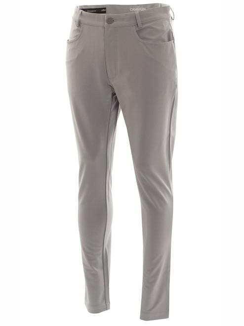 Calvin Klein Genius 4-Way Stretch Trouser - Silver
