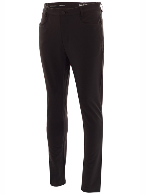 Calvin Klein Genius 4-Way Stretch Trouser - Black