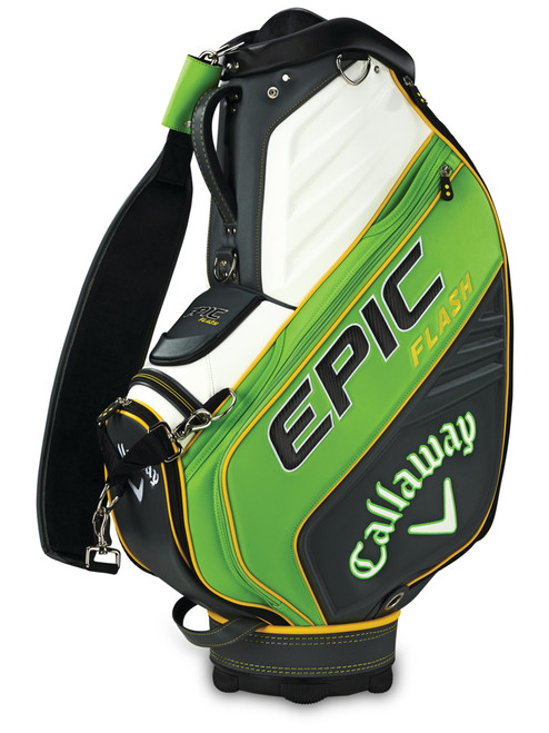 Callaway Epic Flash Staff Bag - Green/Charcoal/White