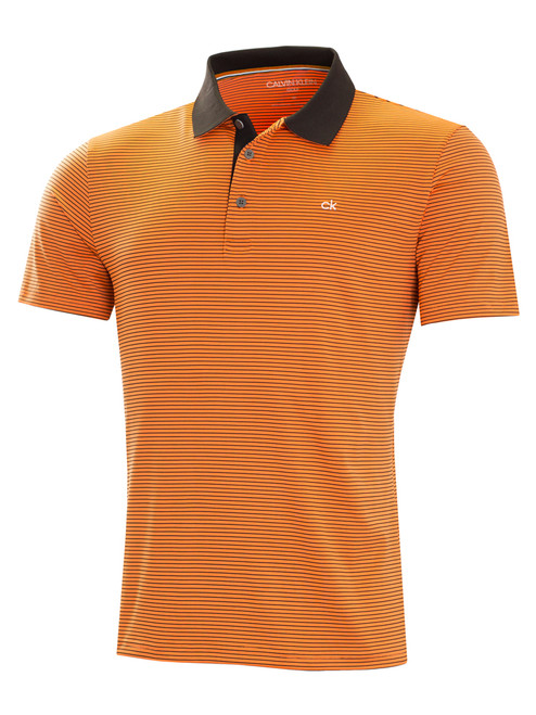 Calvin Klein Interval Polo - Orange