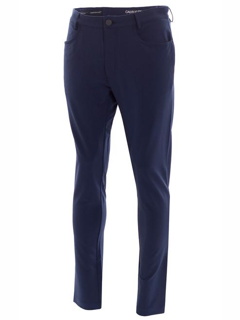 Calvin Klein 4-Way Stretch Trouser - Navy