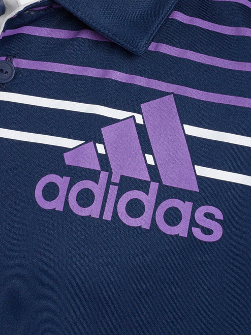 Adidas JR Badge of Sport Polo - Collegiate Navy