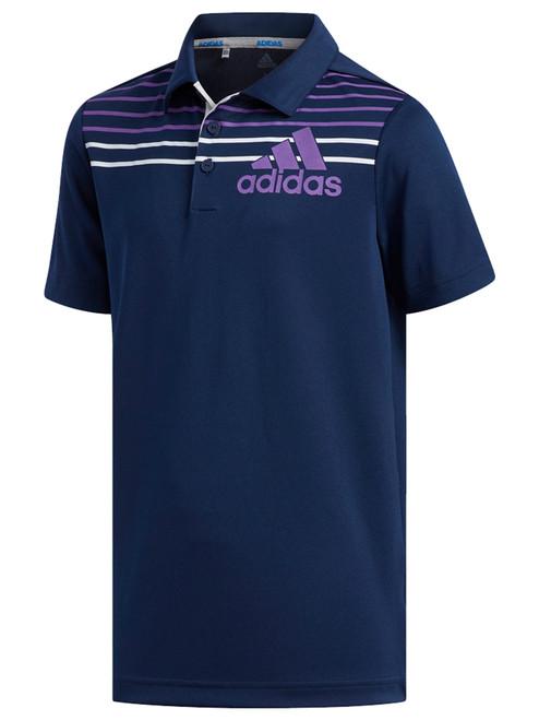 Adidas JR Badge of Sport Polo - Collegiate Navy