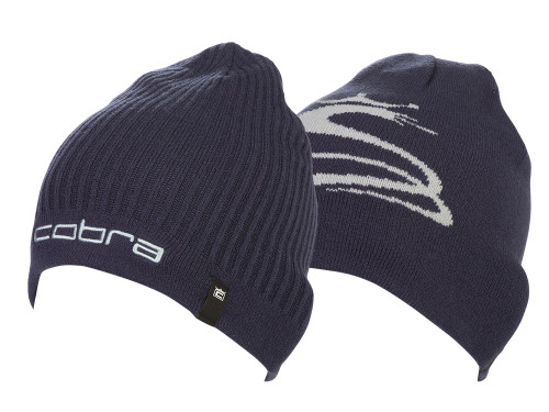 Cobra Reversible Beanie - Peacoat