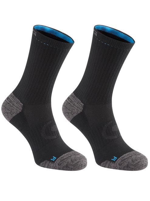 Ping SensorCool Crew 2 Pack Socks - Black