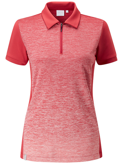 Ping W Dusk Polo - Iron Red Multi