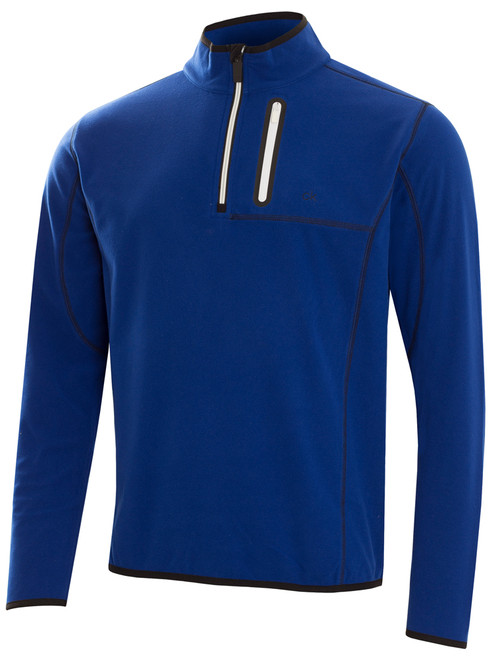 Calvin Klein Swing Performance Fleece Top - Royal