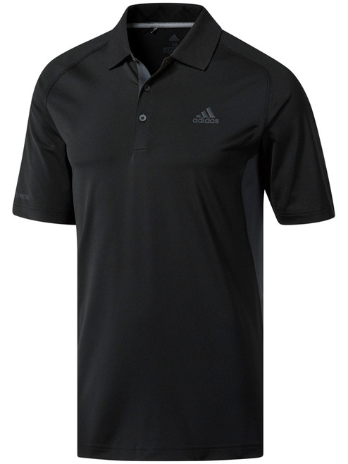 Adidas Ultimate Hyper Athletic Polo - Black/Carbon
