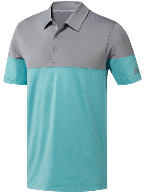 Adidas Ultimate 2.0 Allday Novelty Polo - True Green/Grey