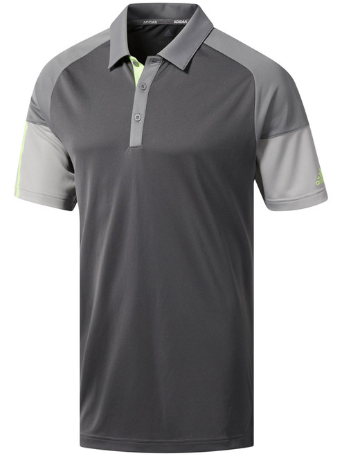 Adidas Colour Block Polo - Grey Five/Grey Three/Grey Two
