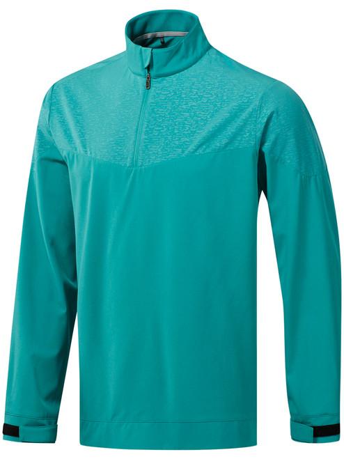 Adidas Camo Print Wind Shirt - True Green