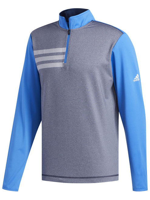 Adidas 3-Stripes Competition 1/4 Zip - True Blue/Navy